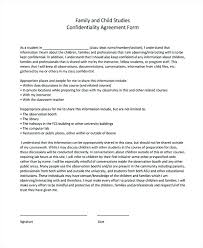 Basic Contractor Confidentiality Agreement Free Form Template Sample ...