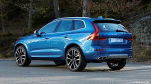 2018 volvo xc60 r design. perfect xc60 2018 volvo xc60 t6 rdesign color bursting blue  rear threequarter  wallpaper in volvo xc60 r design v