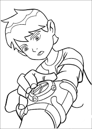 Kleurplaat Ben 10 To Color Coloring Pages For Boys Ben 10