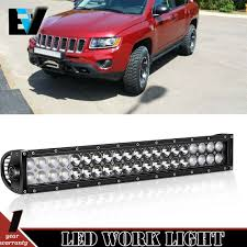 Bull Bar With Led Light Bar Details About Front Bull Bar 20 Led Light Bar Fog Driving For 2017 2018 Jeep Compass New