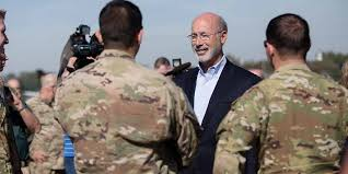 pennsylvania army governor wolf thanks pa national guard troops headed to middle east
