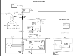 alternator charging system wiring diagram the wire to my chevy alternator voltage regulator wht should graphic