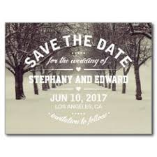 Winter Wedding Save The Date Save The Date Photo Postage Photos Dates And Save The Date