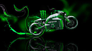 monster energy lotus c  fantasy plastic bike