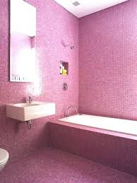 blue and pink bathroom designs. Pink Tile Bathroom And Blue Decorating Idea . Designs