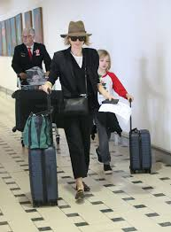 Naomi Watts – Arrives with her children ...