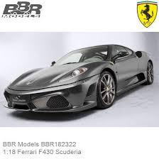 Modellauto 1 18 Bbr Models Bbr182322 Ferrari F430 Scuderia