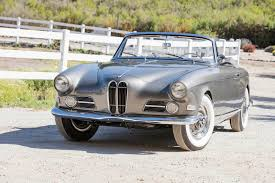 This Beautifully Obscure 1957 BMW 503 Bertone Cabriolet Is Looking ...