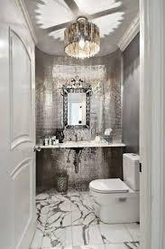image of crystal semi flush mount chandelier