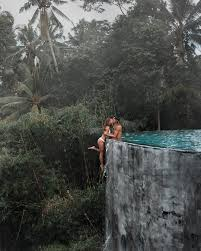 Travel influencer couple defend 'dangerous' Instagram shot after ...