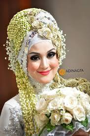 cara merias pengantin berhijab fashion hijab terbaru