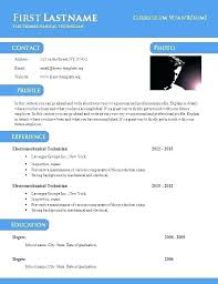 Word Doc Resume Template Format Word Free Professional Format In Ms