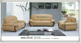 C Modern Genuine Leather Sofa Set Home Furnitureoffice - All leather sofa sets