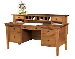 solid wood home office desks. Elegant Solid Wood Desks With Regard To Amazon Com Simpli Home Sawhorse Office Desk Medium O