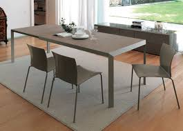 minimalist izac extending dining table contemporary tables on extendable