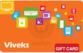 Vivek's E-Gift Cards | Woohoo.in