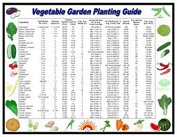 When To Plant Vegetables Chart Unmistakable Vegetable Growth Time Chart 2019