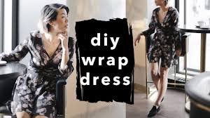 Wrap Around Dress Pattern Awesome Design Inspiration