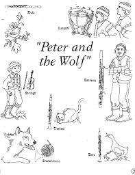 Copy Of Peter And The Wolf - Lessons - Tes Teach
