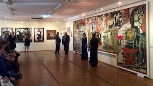 Первая персональная выставка Натальи Цветковой открылась в  Первая персональная выставка Натальи Цветковой открылась в Нижегородском художественном училище