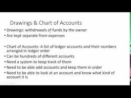5 1 B The Income Statement And Chart Of Accounts Youtube