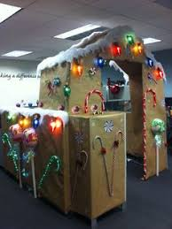 office decor for christmas. cubicle decorating contest gingerbread christmas decorationsoffice office decor for