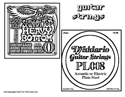 Search through 51928 colorings, dot to dots, tutorials and silhouettes. Gritty Guitar Coloring 22 Free Electric Guitar Instrument Coloring