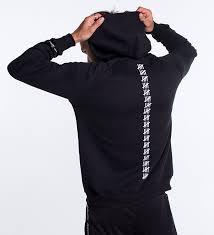 Black Hoodie With Design