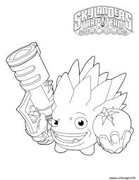 Coloriage Skylanders Trapteam Snap Shot Food Fight Food Fight Dessin