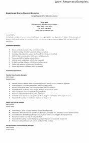Student Nurse Sample Resume Inspiration Nurse Resume Builder Nurse Gorgeous Resume Builder For Nursing Student