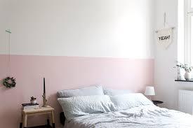 Eine Rosa Wand Für Das Schlafzimmer + Neue Bettwäsche Aus Leinen |  Craftifair