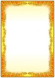 colorful vintage frame border design premium vector