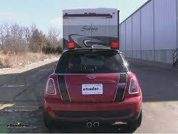 mini cooper vehicle tow bar wiring etrailer com today on our 2010 mini cooper we re going to be installing the pilot magnetic tow lights there are the red led style part number is nv 5164