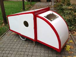 Bike Camper Trailer 25 Best Bicycle Campers Images On Pinterest Bike Trailers