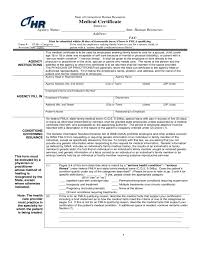 Medical Certificate Form Connecticut Free Download