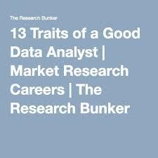 Good Work Traits 13 Traits Of A Good Data Analyst Books Work Organization