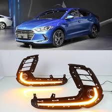 2018 Hyundai Elantra Daytime Running Lights Us 65 32 29 Off Csgjmy 2pcs Drl For Hyundai Elantra 2016 2017 2018 Driving Daytime Running Light Fog Lamp Relay Led Daylight Style Free Shipping In