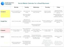 Social Media Plan Template