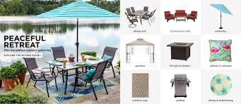 Outdoor dining sets with umbrella Chair Patio Furniture Sets Sears Patio Furniture Sets Outdoor Furniture
