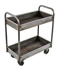 Vintage Metal Kitchen Cart Thoroughly Refinished Early 1940s Fully Functional Vintage