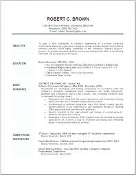 Objective Statements For Resumes general resume objective samples skywaitressco 61