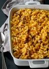 beefy macaroni and cheese bake