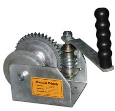 harbor freight hand winch. thread: need a hand cranked worm gearbox harbor freight winch