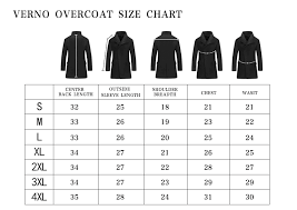 Mens Overcoat Size Chart Ppfh Pinpaifuhao Mens Army Green