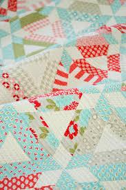 Triangle Quilt Tips & Hopscotch Quilt Pattern Adamdwight.com
