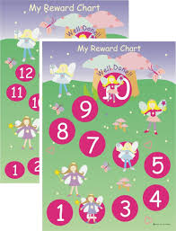 School Charts Ideas Fairy Childrens Magnetic Reward Chart
