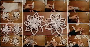 paper snowflakes 3d diy paper snowflake usefuldiy com