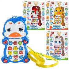 <b>Детский</b> обучающий <b>смартфон</b> с проектором звук <b>Play Smart</b> 7614