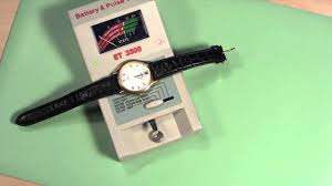 Watch Battery Chart Pdf How To Test A Watch Battery Still In The Watch