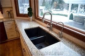 santa cecilia granite with ogee edge profile kitchen top